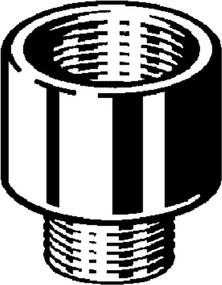 Viega neusstukje 1/2 bi. x 3/8 bu. brons 322564