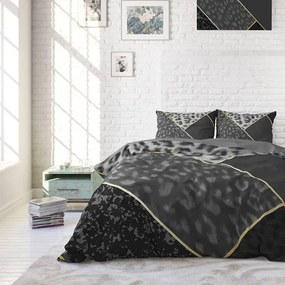 DreamHouse Bedding Panther Vibe - Antraciet Lits-jumeaux (240 x 220 cm + 2 kussenslopen) Dekbedovertrek
