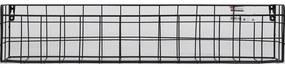 Duraline Hangmand Metaal 60x12x10cm Zwart 1204465