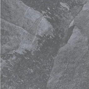 Cerpa Cerámica Vloer- en wandtegel Ardesia Antraciet 75x75 cm Gerectificeerd Natuursteen look Mat antraciet SW07310666-1