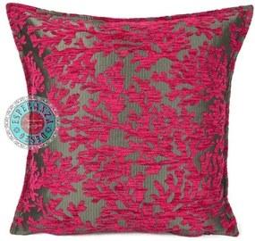 Kussen roze coral branches Met binnenkussen 50 x 50 cm