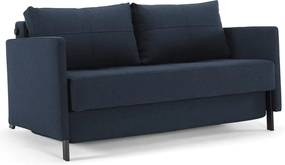 Innovation Living Cubed 140 Arm Design Slaapbank 528 Donkerblauw