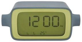Lexon alarm clock rotation LR135 - grijs/geel
