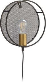 Wandlamp Ancha Zwart