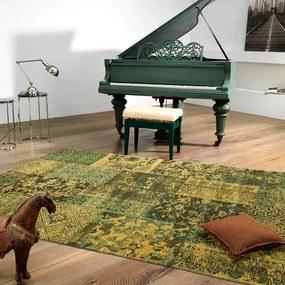 Vloerkleed Alanis Allover - Groen 120 x 180 cm