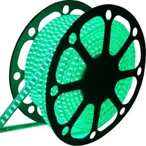LED Lichtslang 50 meter Groen 180 LEDs per meter IP65 incl. netsnoer Plug & Play
