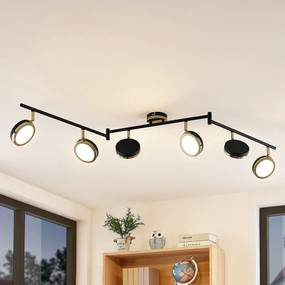 Alsani LED plafondspot, 6-lamps - lampen-24