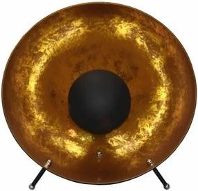 Arles Industrieel Design Tafellamp Goud Zwart