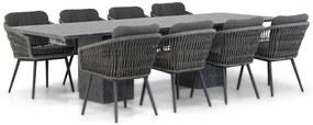 Lifestyle Western/Graniet 300 cm dining tuinset 9-delig