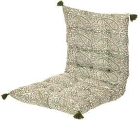 Matraskussen groen - Paisley Fern