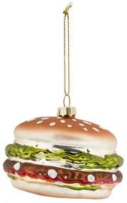 Kerstbal hamburger