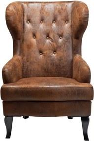Kare Design Vintage Grote Fauteuil Bruin