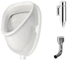 Grohe urinoirset met Sanicare urinoir rondo spoeler SW4070
