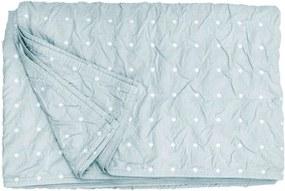 Heckett & Lane bedsprei Priscilla - groen - 180x260 cm - Leen Bakker