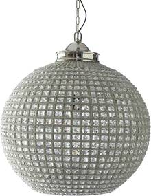 Rivièra Maison - Chantilly Chandelier Casablanca XL - Kleur: zilver