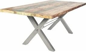 SIT Eettafel »Tops«, van gerecycled, gebruikt hout