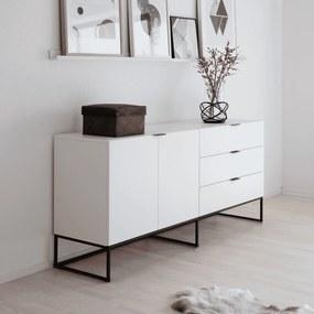 Interstil Dressoir Kobe 180cm, kleur wit