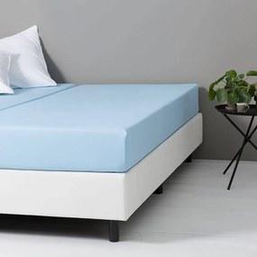 Dekbed-Discounter DD Katoenen Hoeslaken - Blauw 80 x 200