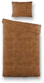 Fresh & Co Faint Paint - Cognac 1-persoons (140 x 220 cm + 1 kussensloop)
