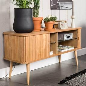 Zuiver Barbier Houten Tv-dressoir - 120x40x57.5cm.