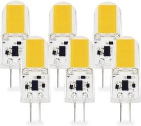 G4 LED Lamp 3W COB Warm Wit Dimbaar 6-Pack