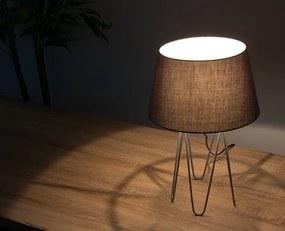 Tafellamp Krito Grijs