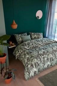 Beddinghouse | Dekbedovertrekset Liana lits-jumeaux: breedte 240 cm x lengte 200/220 cm + groen dekbedovertrekken katoen | NADUVI outlet