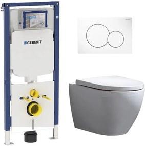 Geberit UP720 Toiletset - Inbouw WC Hangtoilet Wandcloset Rimfree - Beauti Sigma-01 Wit