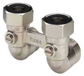 Viega Pexfit Onderblok haaks voor radiatoren 3/4x50mm 359133