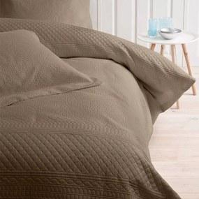 Bedsprei Charlene - Taupe Sleeptime Elegance Patroon - Ga naar Dekbed-Discounter.nl & Profiteer Nu