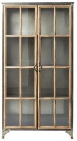 Kare Design Kontor Brede Vitrinekast - 97x39x187cm.