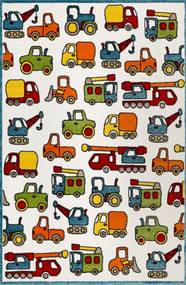 Vehicles multicolor ESP21977110 - 160 X 225 - vloerkleed