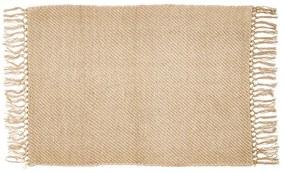 Vloerkleed - naturel - 90x60 cm