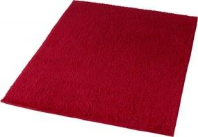 Kansas badmat b60xd90xh1,5 cm, robijn rood