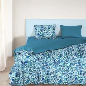 Good Morning Mozaik 1-persoons (140 x 200/220 cm + 1 kussensloop) Dekbedovertrek