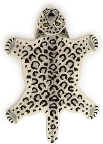 Doing Goods Snowy Leopard vloerkleed 92 x 62 cm