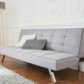 DreamHouse Bedding Slaapbank - 3-zits - Stof - Grijs
