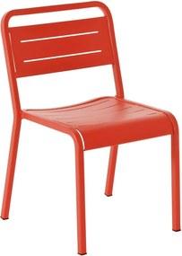 Emu Urban Chair tuinstoel rood set van 4