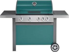 Jamie Oliver Home gasbarbecue 4 + 1 mint groen