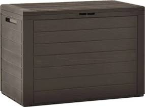 Tuinbox 78x44x55 cm bruin