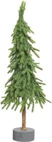 Mini kerstboom PE standaard 13x13x45 cm groen