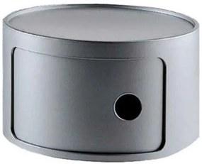 Componibili Bijzettafel Xsmall (1 Comp.) Zilver