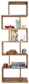 Kare Design Authentico Open Kast Van Hout - 60x30x180cm.