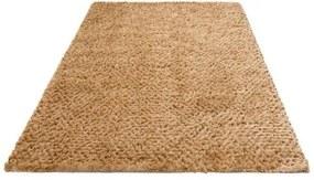 Hoogpolig vloerkleed, »Rasgulla«, Leonique, rechthoekig, hoogte 50 mm, met de hand geweven