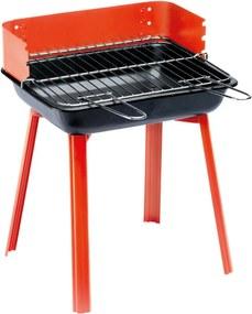 Camping barbecue PortaGo 33 x 26 cm rood 11526