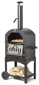 Bbq met pizza oven