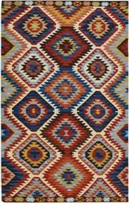 Bakero   Vloerkleed Kelim Laagpolig lengte 120 cm x breedte 180 cm x hoogte 0,4 cm multicolour vloerkleden wol vloerkleden   NADUVI outlet