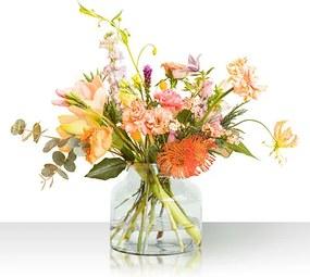 bloomon bloemenabonnement S size. Gebruik code MISTLETOE en krijg een keramische vaas cadeau!