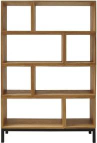 Artichok Module boekenkast - Arthur - Boekenkast frame- Boekenkasten - Hout - Module kasten - Design meubel - Modulaire boekenkast - zwart metaal