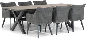 Garden Collections Milton/Forest 240 cm dining tuinset 7-delig